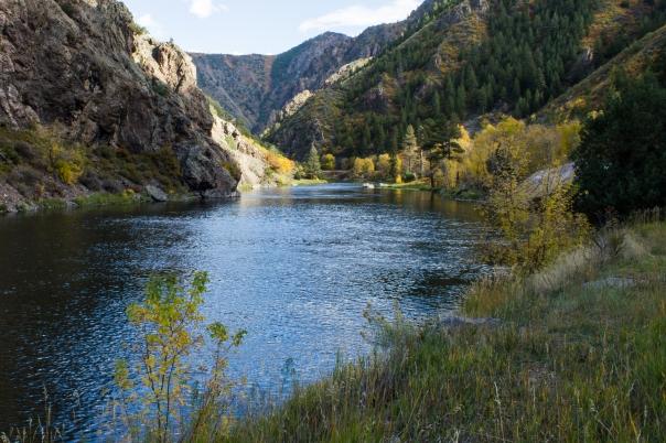 Gunnison River. Black Canyon of the Gunnison, Colorado.